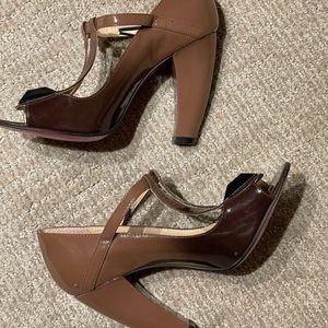Sergio Zelcer Patent Leather Heels
